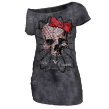 T-shirt damski Alchemy Top Texas - AEA Dark Love