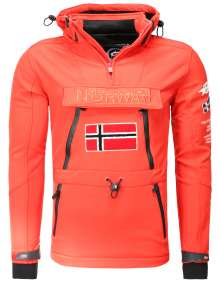 KURTKA SOFTSHELL Geographical Norway Tuilding